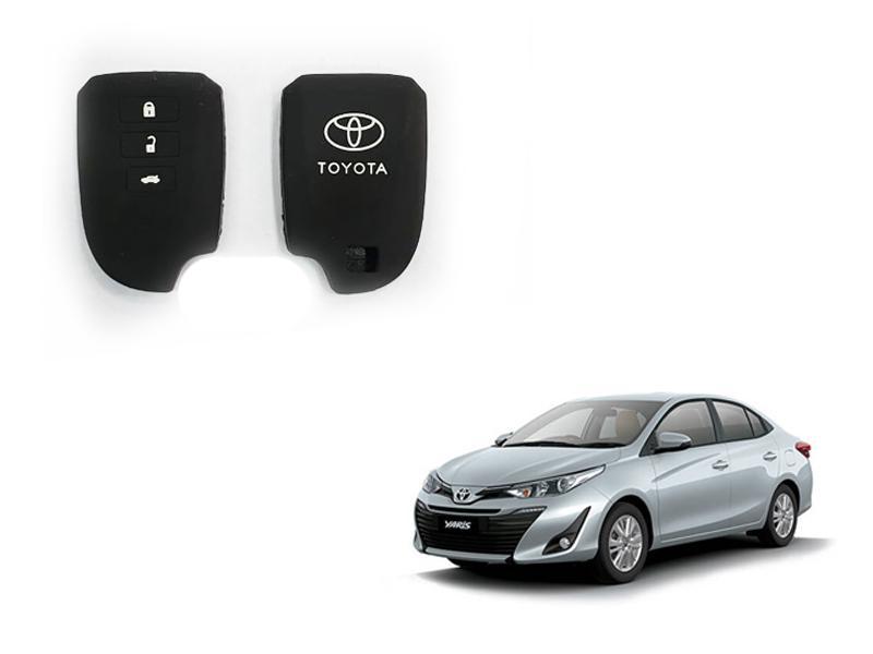 Toyota Yaris 2020 Push Start Silicone Key Cover Image-1