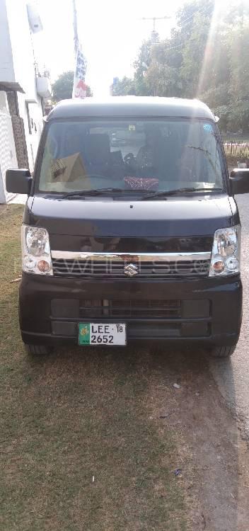 Suzuki Every Wagon JP Turbo Limited 2014 Image-1