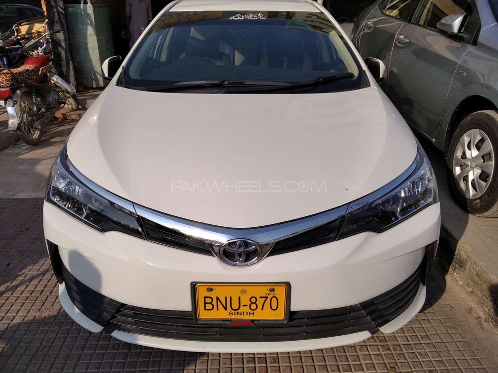 Toyota Corolla Altis Manual 1.6 2018 Image-1
