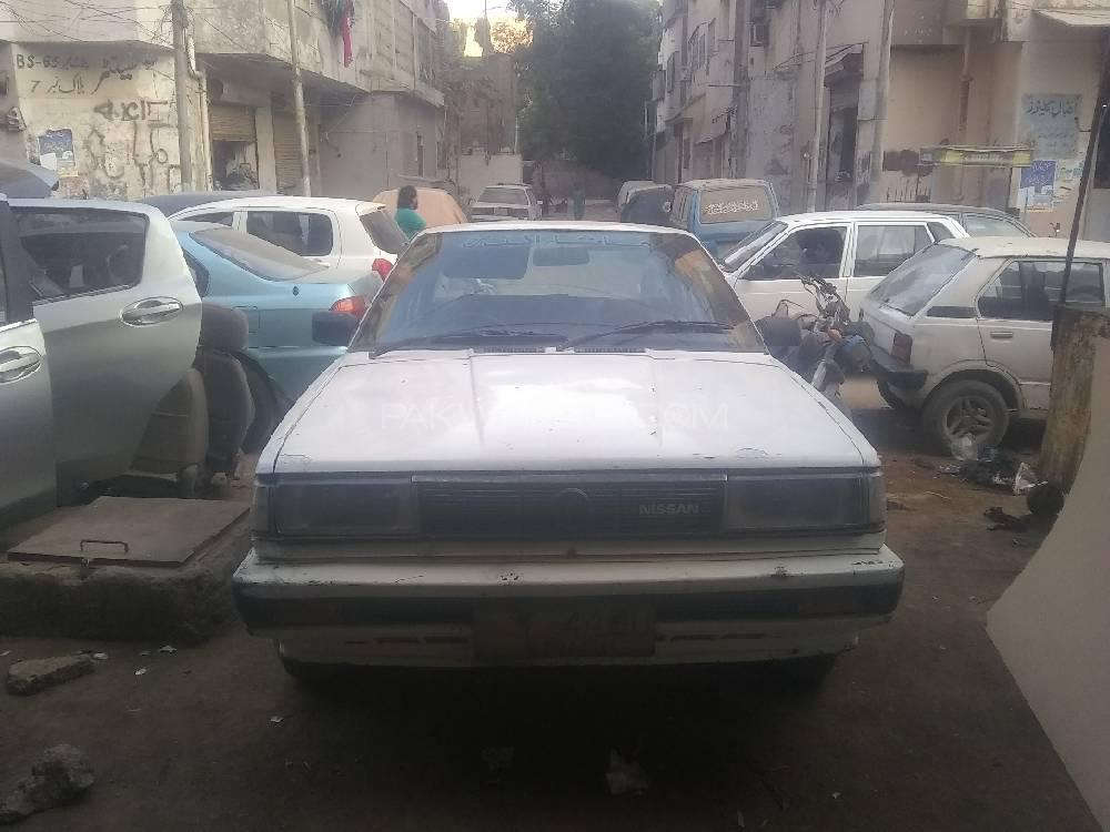 Nissan Sunny EX Saloon 1.3 (CNG) 1991 Image-1