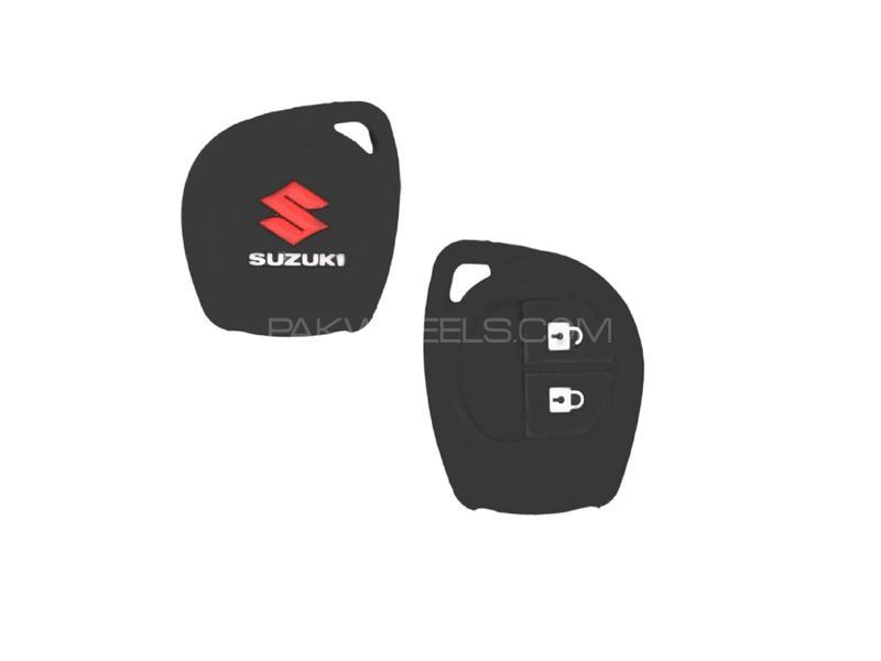 Suzuki Swift 2010-2020 Silicone Key Cover Black in Lahore