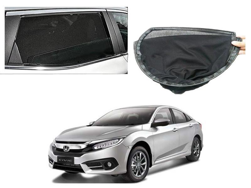 Sun Shades For Honda Civic 2016-2020 Image-1