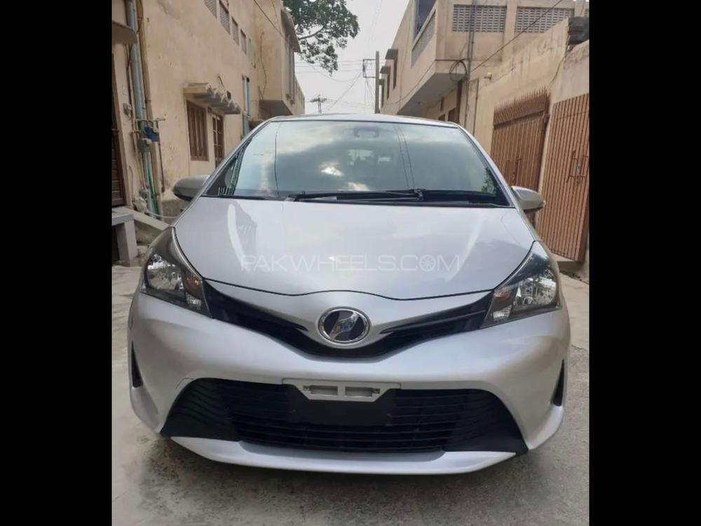 Toyota Vitz F Limited 1.0 2016 Image-1