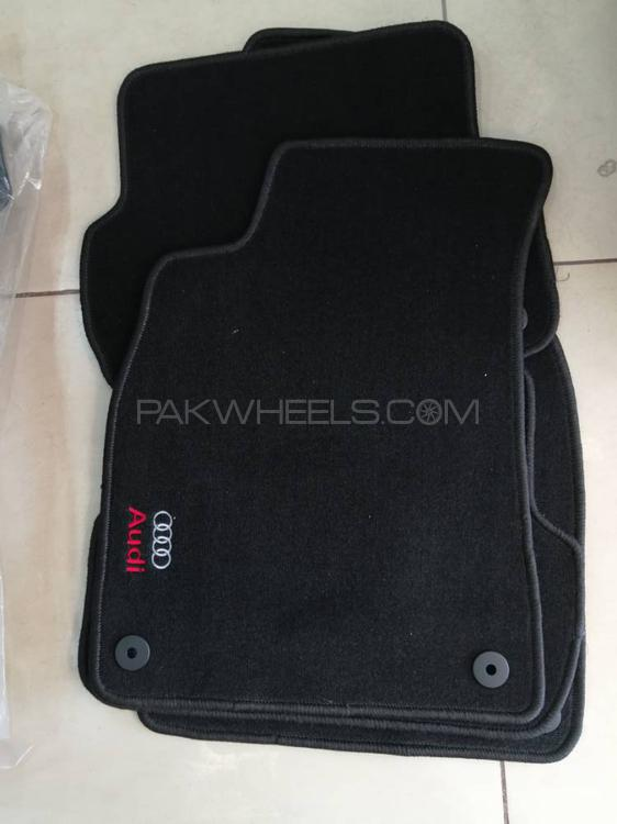 Original Audi (A3 , A4 , A5) series car Mats and also used as  Universal mats Image-1