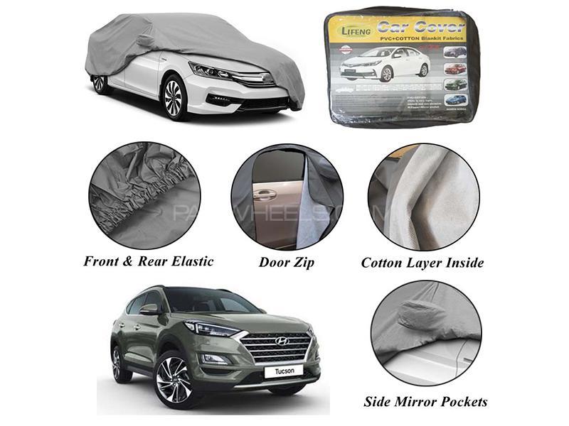 Hyundai Tucson 2020-2021 Non Wooven Inner Cotton Layer Car Top Cover  in Karachi