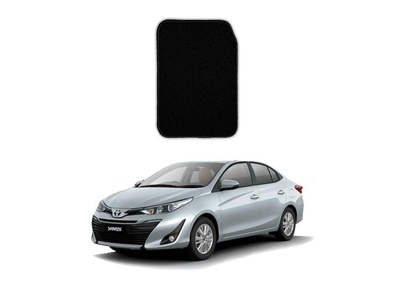 Toyota Yaris Marflex Floor Mats Premium Black in Lahore