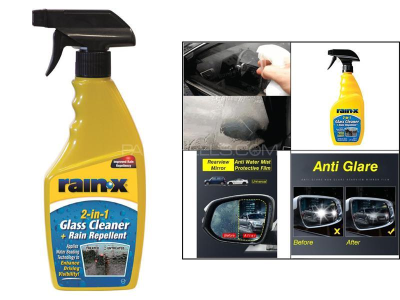 Rain X 2 In 1 Glass Cleaner and Rain Repellent Image-1