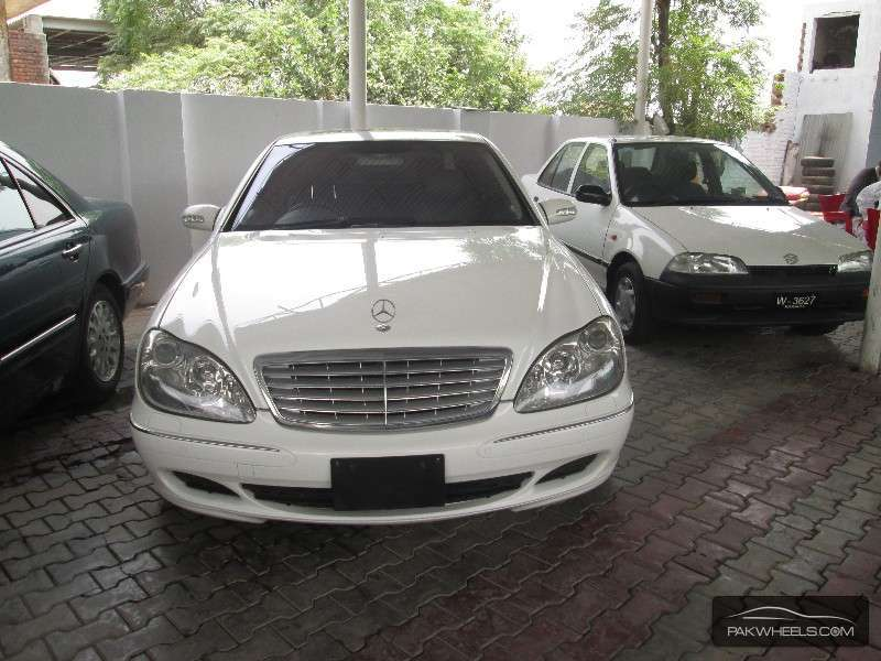 Mercedes benz s class s500 2003 for sale in lahore pakwheels for 2003 mercedes benz s500 for sale