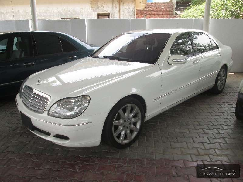 Mercedes benz s class s500 2003 for sale in lahore pakwheels for 2003 s500 mercedes benz