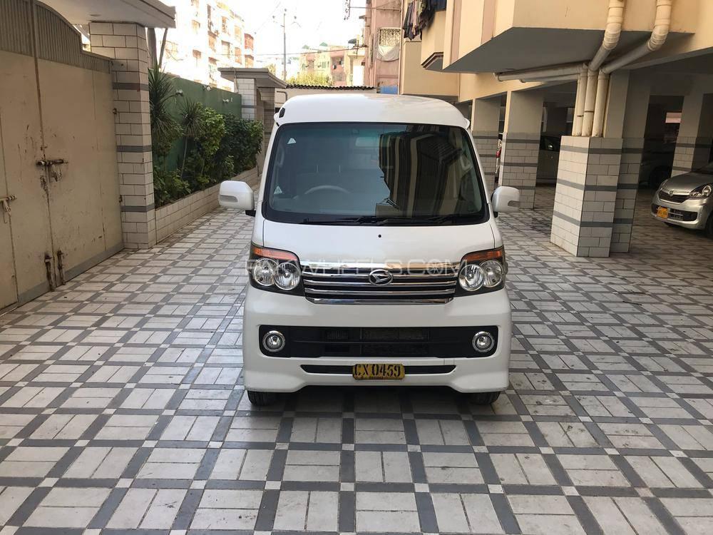 Daihatsu Atrai Wagon CUSTOM TURBO RS 2013 Image-1