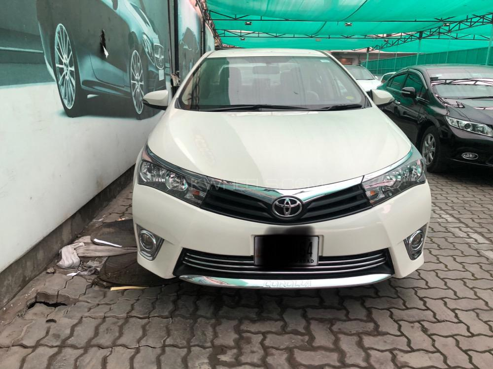 Toyota Corolla XLi VVTi 2017 Image-1