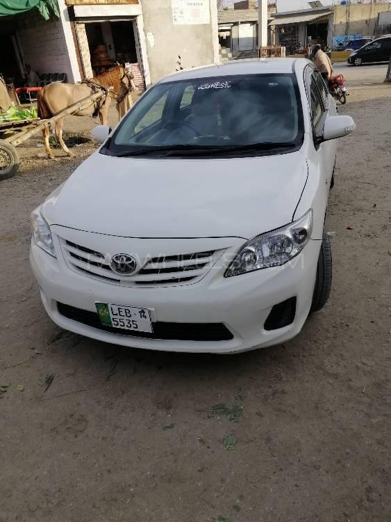 Toyota Corolla XLi VVTi Ecotec 2014 Image-1