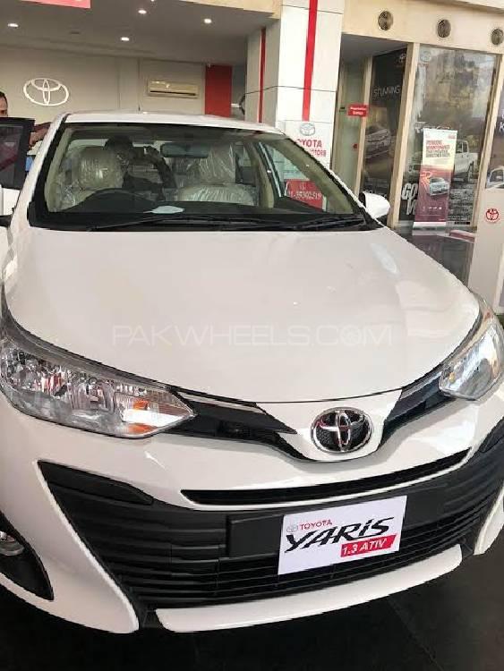 Toyota Yaris ATIV CVT 1.3 2021 Image-1