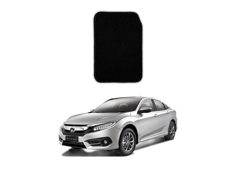 Honda Civic 2016-2021 Marflex Floor Mats Premium Black in Lahore