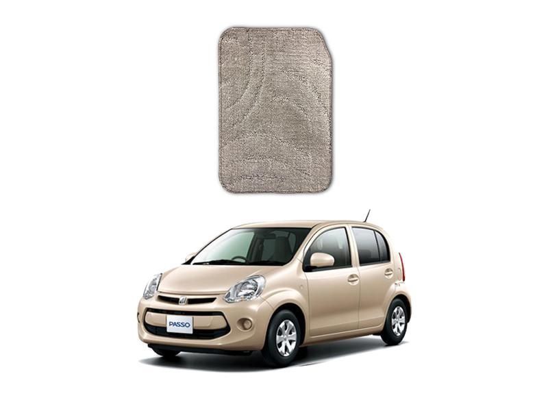 Toyota Passo Marflex Floor Mats Premium Beige in Lahore