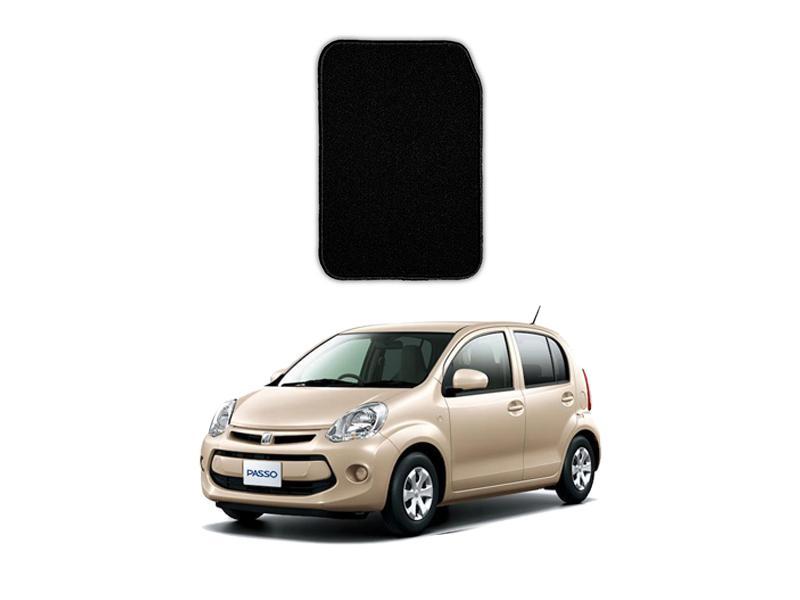 Toyota Passo Marflex Floor Mats Premium Black in Lahore
