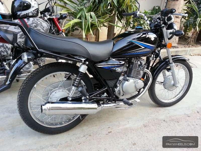 used suzuki gs 150 2014 bike for sale in karachi   120955 pakwheels