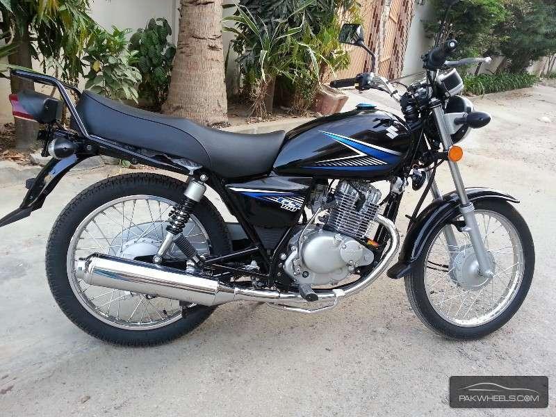 Used Suzuki GS 150 2014 Bike for sale in Karachi - 120955 ...