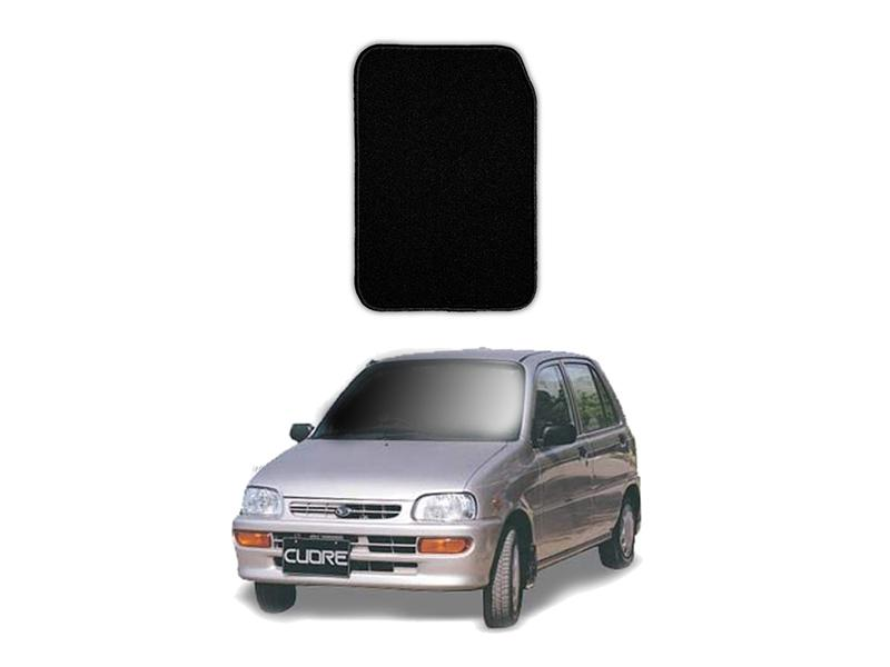 Daihatsu Cuore Marflex Floor Mats Premium Black in Lahore