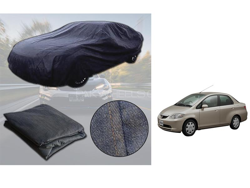 Honda City 2003-2006 Denim Double Stitched Top Cover  in Karachi