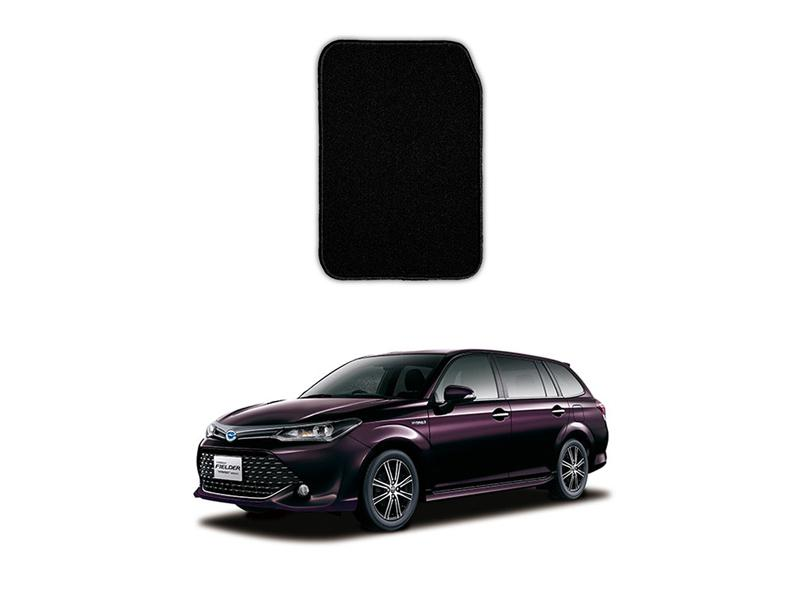 Toyota Fielder Marflex Floor Mats Premium Black in Lahore