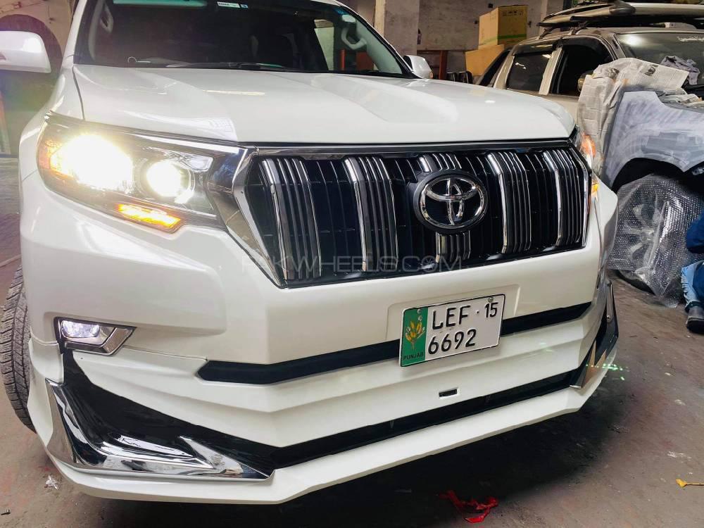 Toyota Prado  face up lift. Image-1