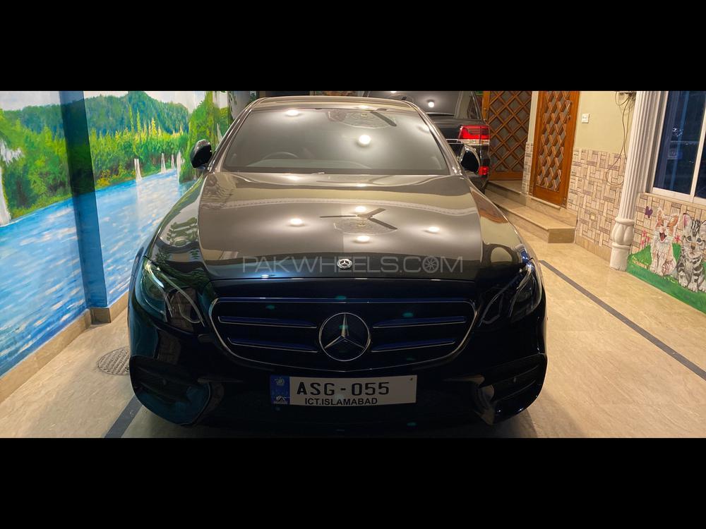 Mercedes Benz E Class E200 AMG 2020 Image-1
