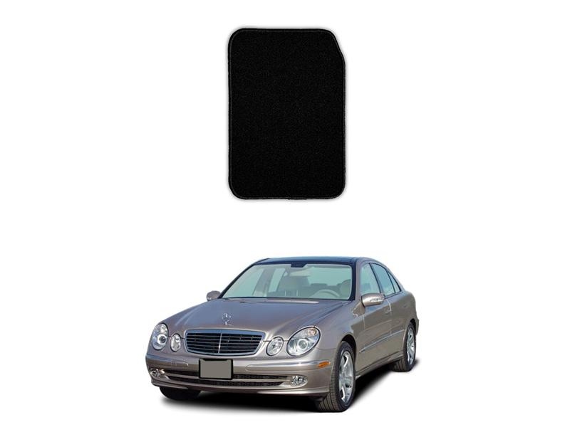 Mercedes E Class 2002-2009 Marflex Floor Mats Premium Black in Lahore