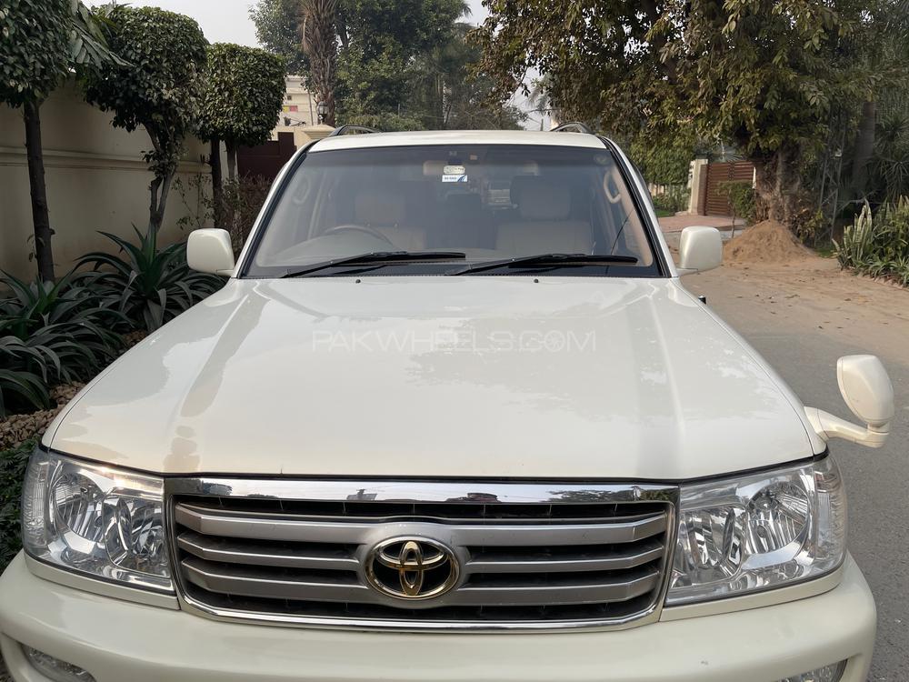 Toyota Land Cruiser VX Limited 4.2D 2001 Image-1