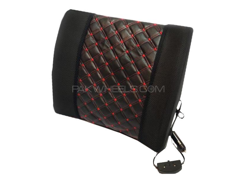 Car Seat Massager Back Rest Cushion 4D Style Image-1