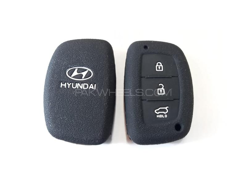 Hyundai Tucson Silicone Soft Key Cover in Lahore