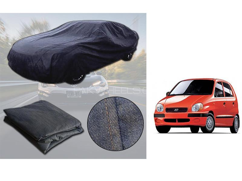 Hyundai Santro 2003-2014 Denim Double Stitched Top Cover  in Karachi