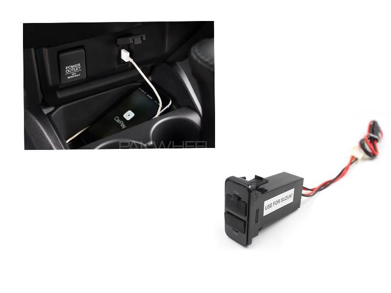 Suzuki Dash Dual USB Charging Ports Image-1
