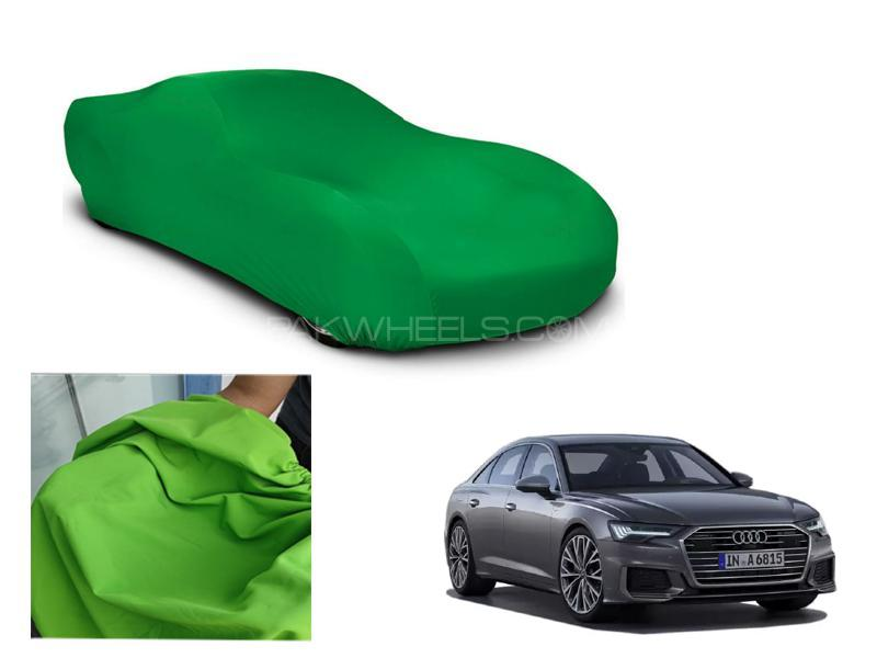 Audi A6 Microfiber Coated Anti Scratch And Anti Swirls Water Resistant Top Cover in Lahore