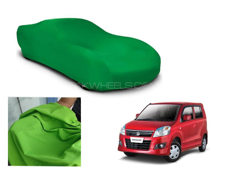 Suzuki Wagon R Microfiber Coated Anti Scratch And Anti Swirls Water Resistant Top Cover in Lahore