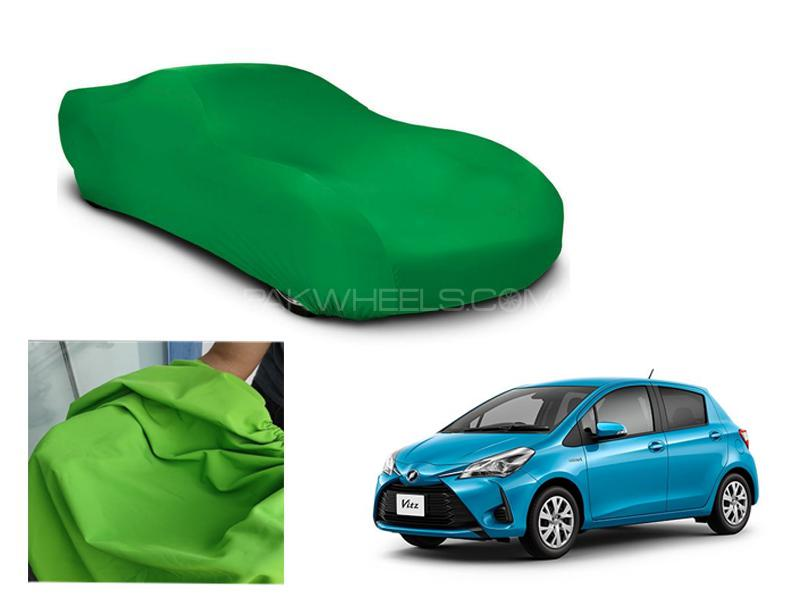 Toyota Vitz 2014-2020 Microfiber Coated Anti Scratch And Anti Swirls Water Resistant Top Cover in Lahore