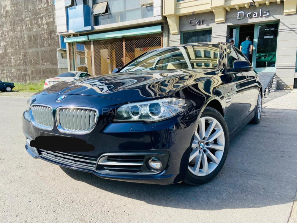 BMW 5 Series ActiveHybrid 5 2015 Image-1