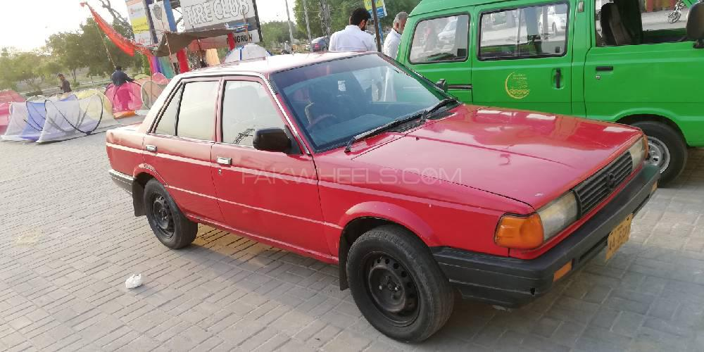 Nissan Sunny EX Saloon 1.6 (CNG) 1986 Image-1