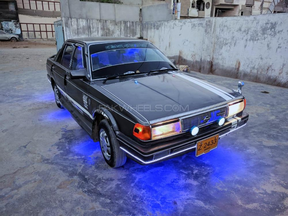 Nissan Sunny EX Saloon 1.3 (CNG) 1989 Image-1