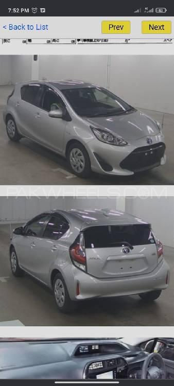 Toyota Aqua S 2018 Image-1