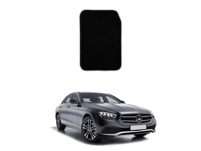 Mercedes E Class 2019-2021 Marflex Floor Mats Premium Black Image-1