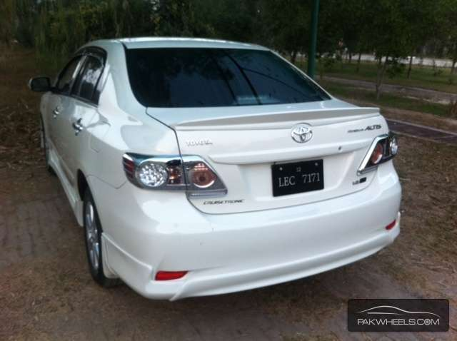 Toyota Corolla Altis Sr Cruisetronic 1 6 2012 For Sale In Lahore Pakwheels