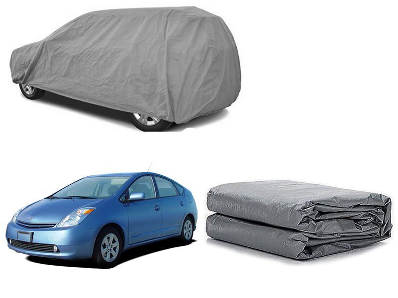 Toyota Prius 2003-2009 PVC Cotton Fabric Top Cover - Grey  Image-1