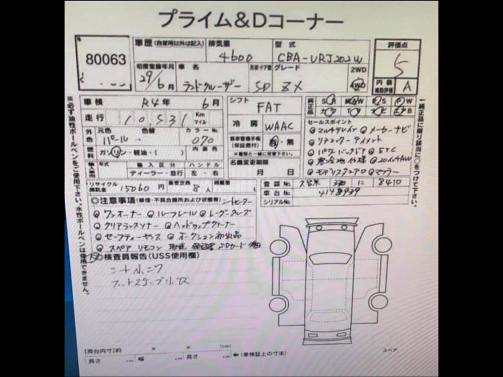 Toyota Land Cruiser ZX 2017 Image-1