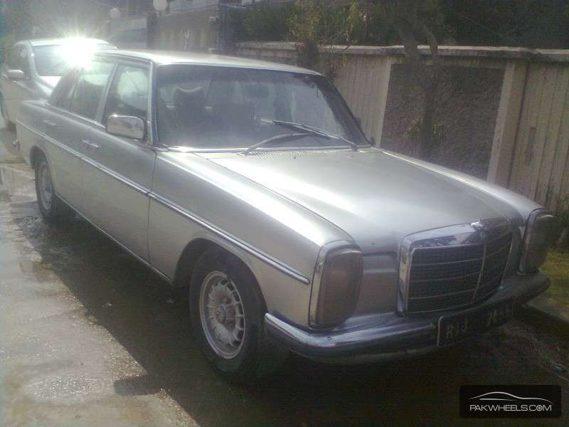 Mercedes benz 250 d 1978 for sale in islamabad pakwheels for Used mercedes benz rims for sale