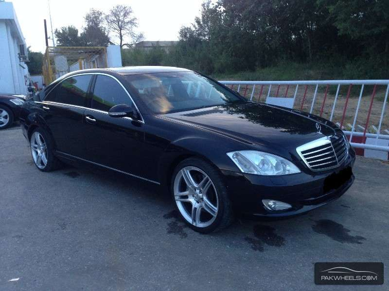 mercedes benz s class s500l lim 2008 for sale in islamabad