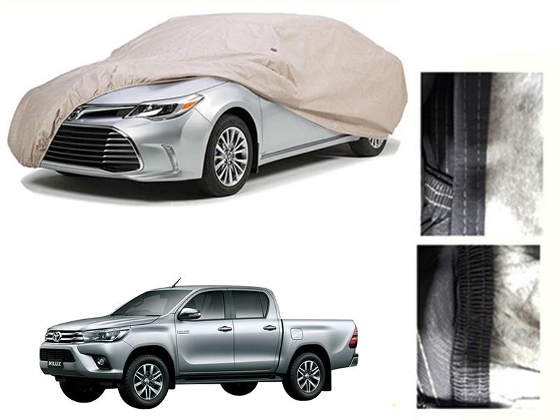 Toyota Revo 2016-2021 PVC Cotton Car Top Cover  in Karachi