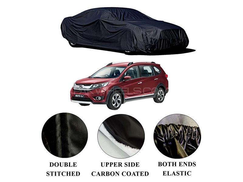 Honda BR-V 2017-2021 Polymer Carbon Coated Car Top Cover in Karachi