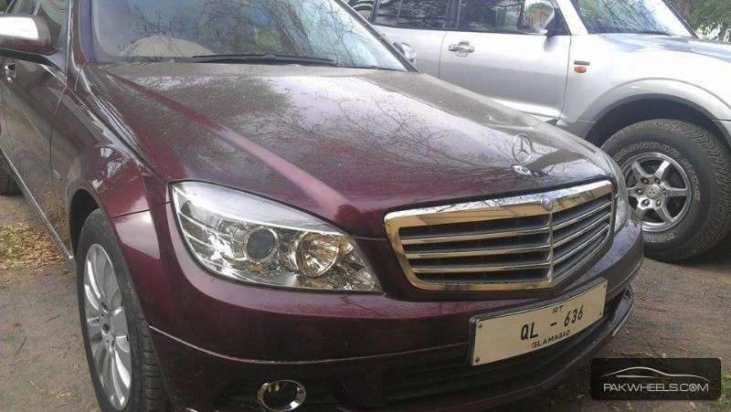 Mercedes benz c class c240 2008 for sale in islamabad for Mercedes benz c class 2008 for sale