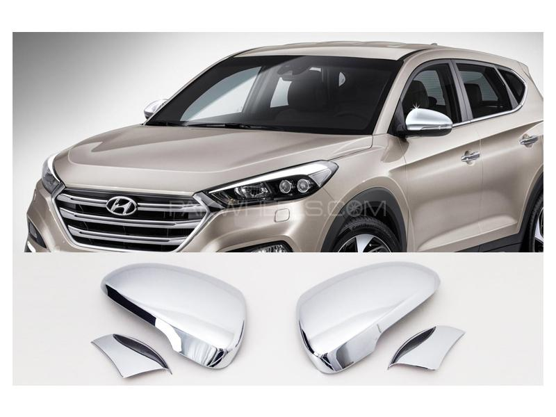 Hyundai Tucson Side Mirror Chrome Covers in Lahore